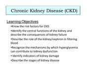 Kidney Disease Part I