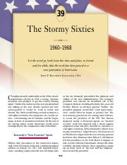 chapter 39 the stormy sixties