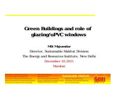 1-Green Buildings and role of glazing.pdf
