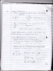 MATH221 Section 3.3 Notes