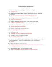 Physiology practice exam questions