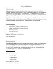 Nursing Case Study Hypokalemia - nursingessayw.rocks