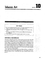 Chapter 10 Islamic Art AP Study Guide