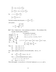 Analytical Mech Homework Solutions 150