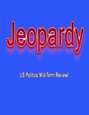 PS 201 Jeopardy Midterm Review