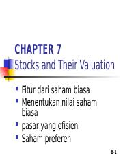 [TM7] CFM - Stock Their Valuation.ppt