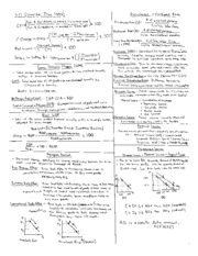 Intro to Macroeconomics Cheat Sheets