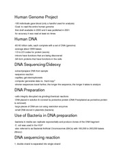 Applied Genome Science in Pharmacy Notes