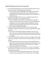 Little Red Riding Hood Interview Questions.docx 11.docx