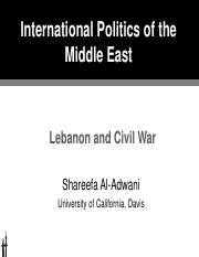 13 POL 135 IPME Leb, Civil War.pdf