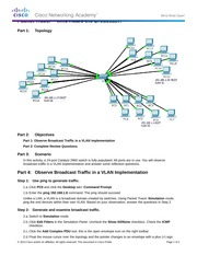 3.1.1.5 Packet Tracer - Who Hears the Broadcast Instructions.docx