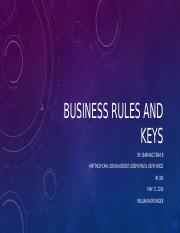 Learning_Team_B_Business Rules and Keys