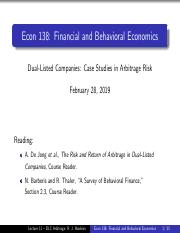 Lecture 11 - Dual-Listed Company Arbitrage.pdf