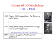 Chap 01 - Introduction to IO Psychology - Lecture (1)