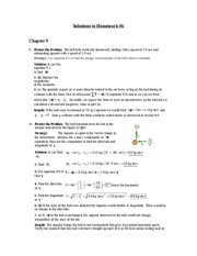 Chapter 9 Hm 6 Solutions