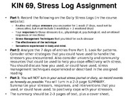 Stress Log Assignment