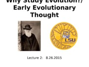 Lecture2_8.26.15_Intro_EarlyEvolThought