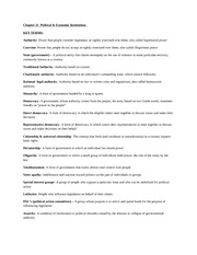 Sociology Study Guides CH. 11- 15 PRINT