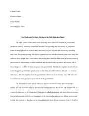 Alyssa Coons-one nation reaction paper.docx