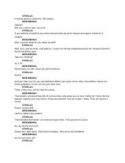 Othello script