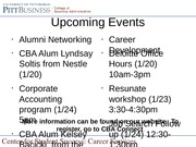week 3-resumes revised with events
