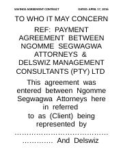 savings agreement contract.docx