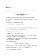 PHY2049 Chapter 27 Solutions