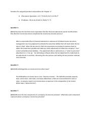 Solutions for assigned questions and problems for Chapter1 17.docx