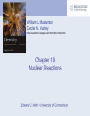 Chapter 19 - Nuclear Reactions.ppt