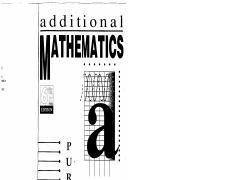 additional mathematics hh heng pdf