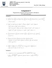 APSC173_assignment2_solution
