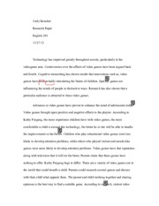 Research Rough Draft (with teacher critiques)