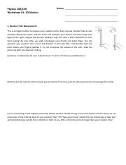 Worksheet 1 - 1D Motion.pdf