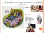 Chapter 7: Disorders