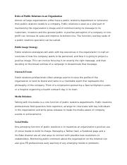 Roles of Public Relations in an Organization.docx