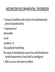 NEURODEVELOPMENTAL DISORDER.pptx