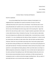 Letter to a Nazi Assignment