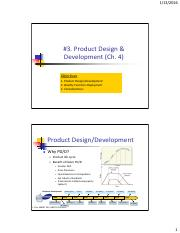 MGMT355-3 Product Design