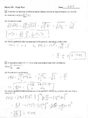 Worksheet 13 Solution