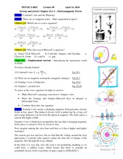 2010 PHYSICS 002C Lecture 09