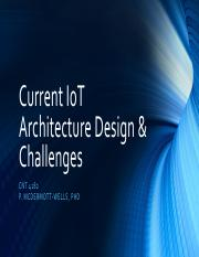 Topic 05A -Current IoT Architecture & Challenges.pdf