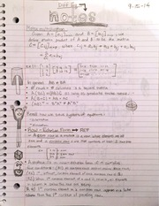 MAT 2050 : Matrix Operations and Differential Equations - Wayne