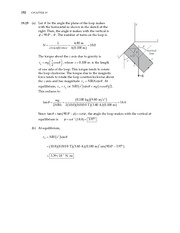12_Ch 19 College Physics ProblemCH19 Magnetism