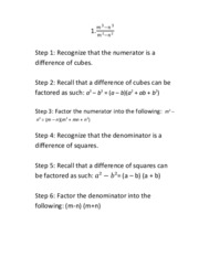 Alg 2 review step by step