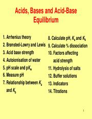 Week7_Acid Base Equilibrium