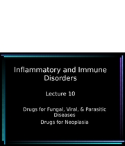 Lecture 10 Immune System-2007