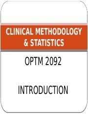1.CLINICAL METHODOLOGY _ STATISTICS