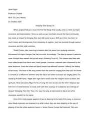 keeping time essay #2