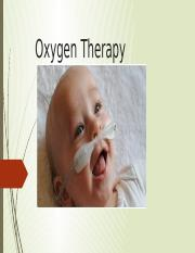 Oxygen therapy.pptx