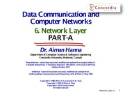 6-Network-Layer-Part-A